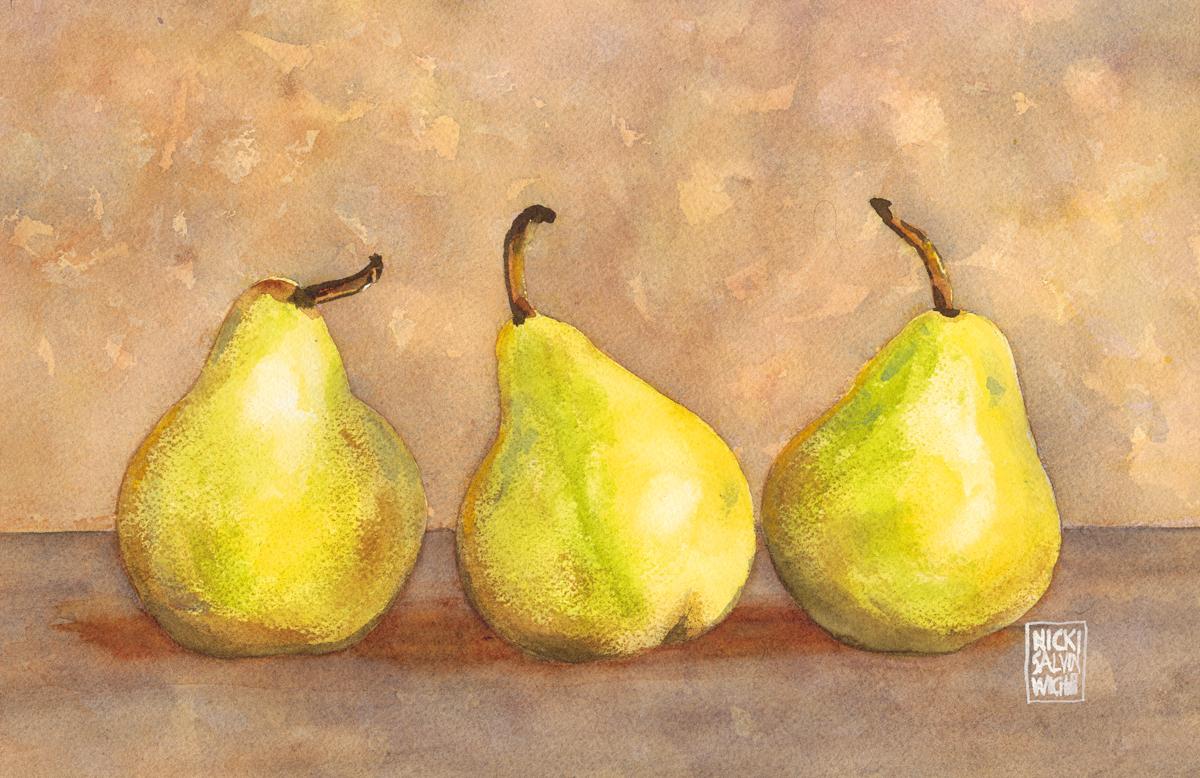 Three Little Pears
